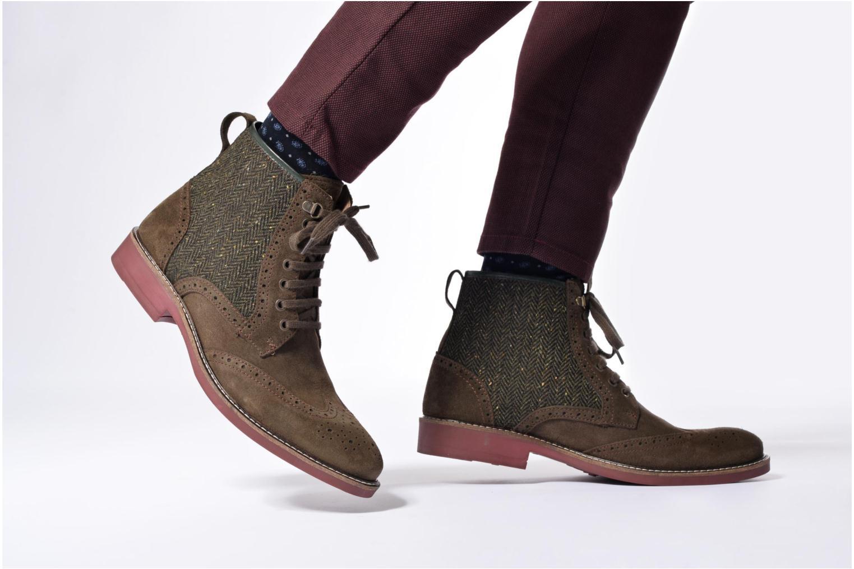 Bottines et boots Mr SARENZA Spoling Vert vue bas / vue portée sac
