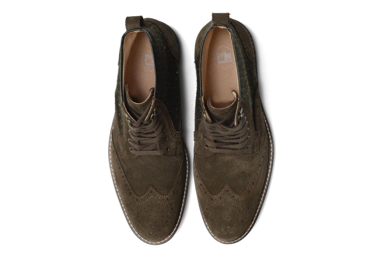 Bottines et boots Mr SARENZA Spoling Vert vue portées chaussures