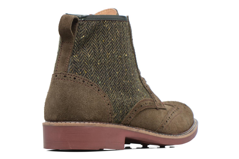 Bottines et boots Mr SARENZA Spoling Vert vue face