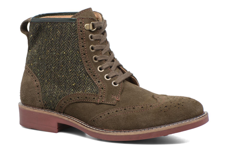 Bottines et boots Mr SARENZA Spoling Vert vue droite