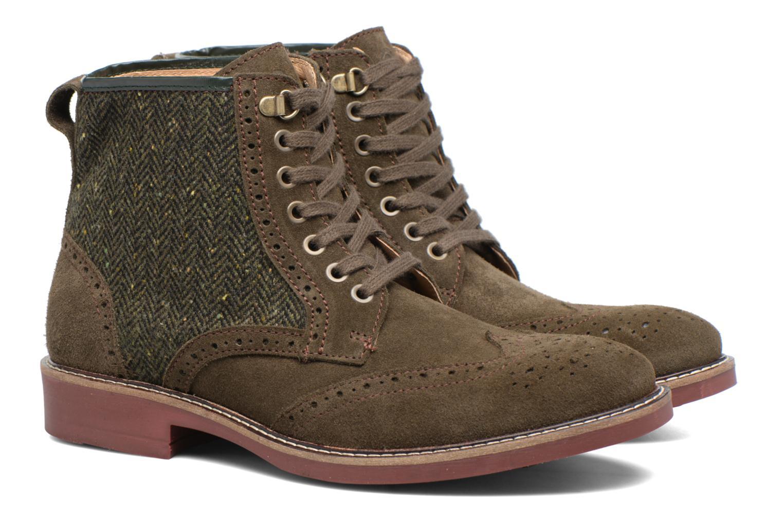 Bottines et boots Mr SARENZA Spoling Vert vue derrière