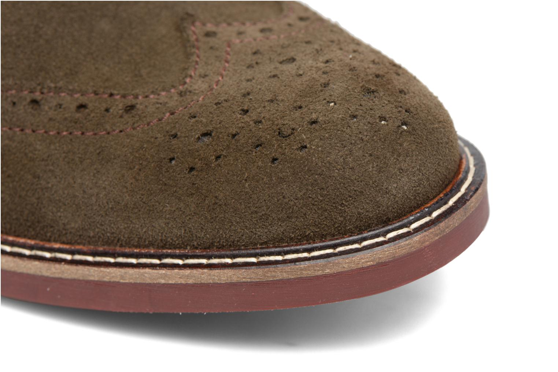 Bottines et boots Mr SARENZA Spoling Vert vue gauche