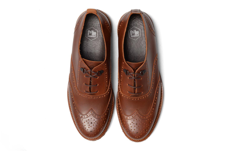 Chaussures à lacets Mr SARENZA Sulivan Marron vue portées chaussures