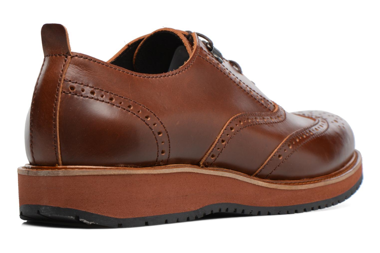 Chaussures à lacets Mr SARENZA Sulivan Marron vue face