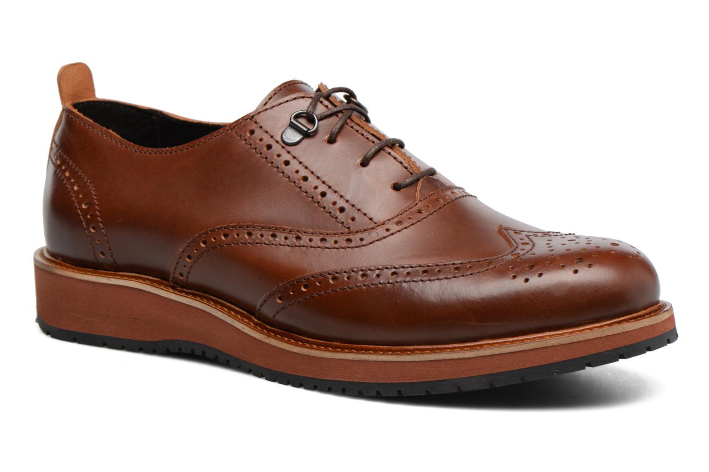 Chaussures à lacets Mr SARENZA Sulivan Marron vue droite