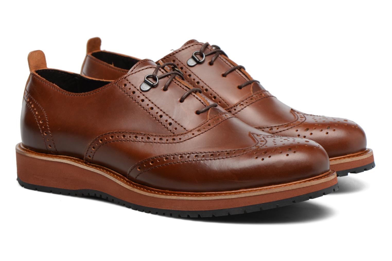 Chaussures à lacets Mr SARENZA Sulivan Marron vue derrière