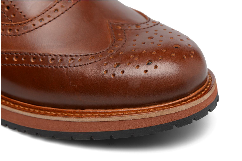 Chaussures à lacets Mr SARENZA Sulivan Marron vue gauche