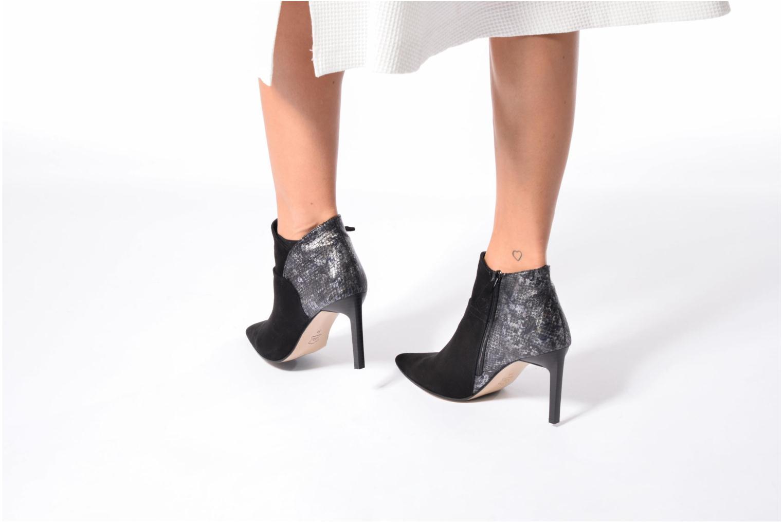 Bottines et boots Elizabeth Stuart Labrac 732 Noir vue bas / vue portée sac