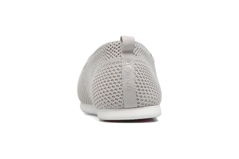 Baskets Skechers Plush Lite Gris vue droite