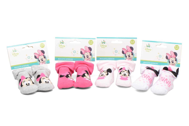 Sokken en panty's Disney Chaussettes Bouclette Bébé Lot de 4 Minnie Grijs detail