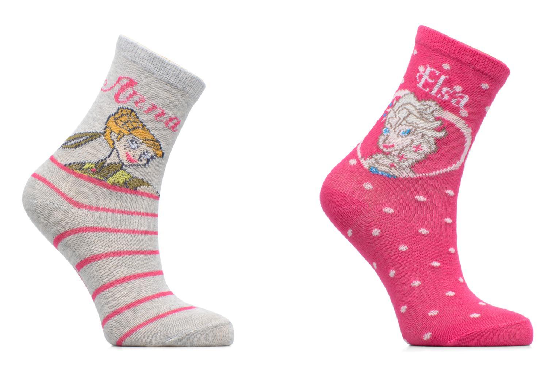 Calze e collant Disney Chaussettes Lot de 2 Anna Profil Rosa vedi dettaglio/paio