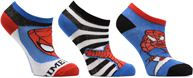 Chaussettes Basses Lot de 3 Spiderman