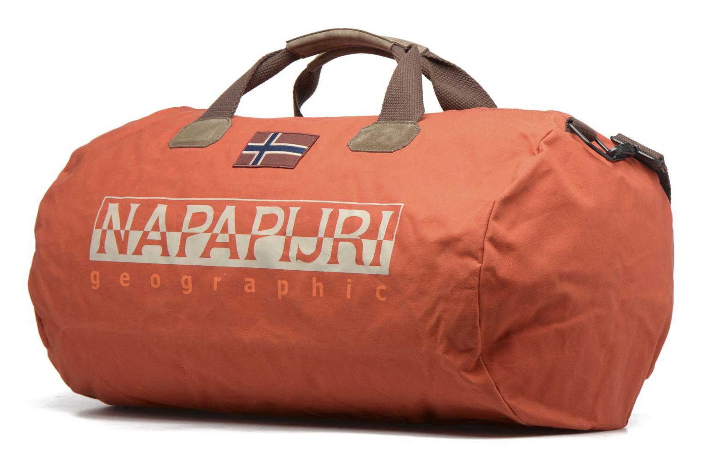 Sacs de sport Napapijri Bering L Duffle Orange vue portées chaussures