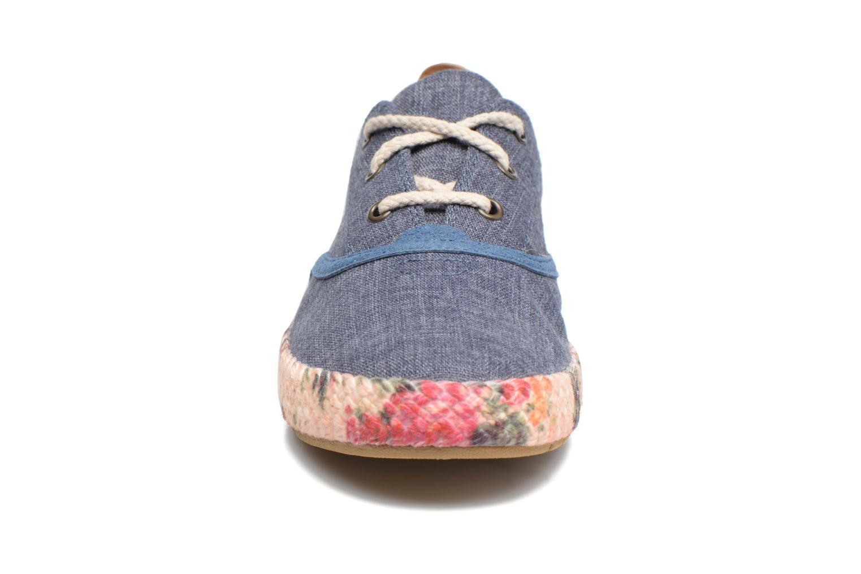 Sneaker Timberland Casco Bay Fabric Oxford blau schuhe getragen