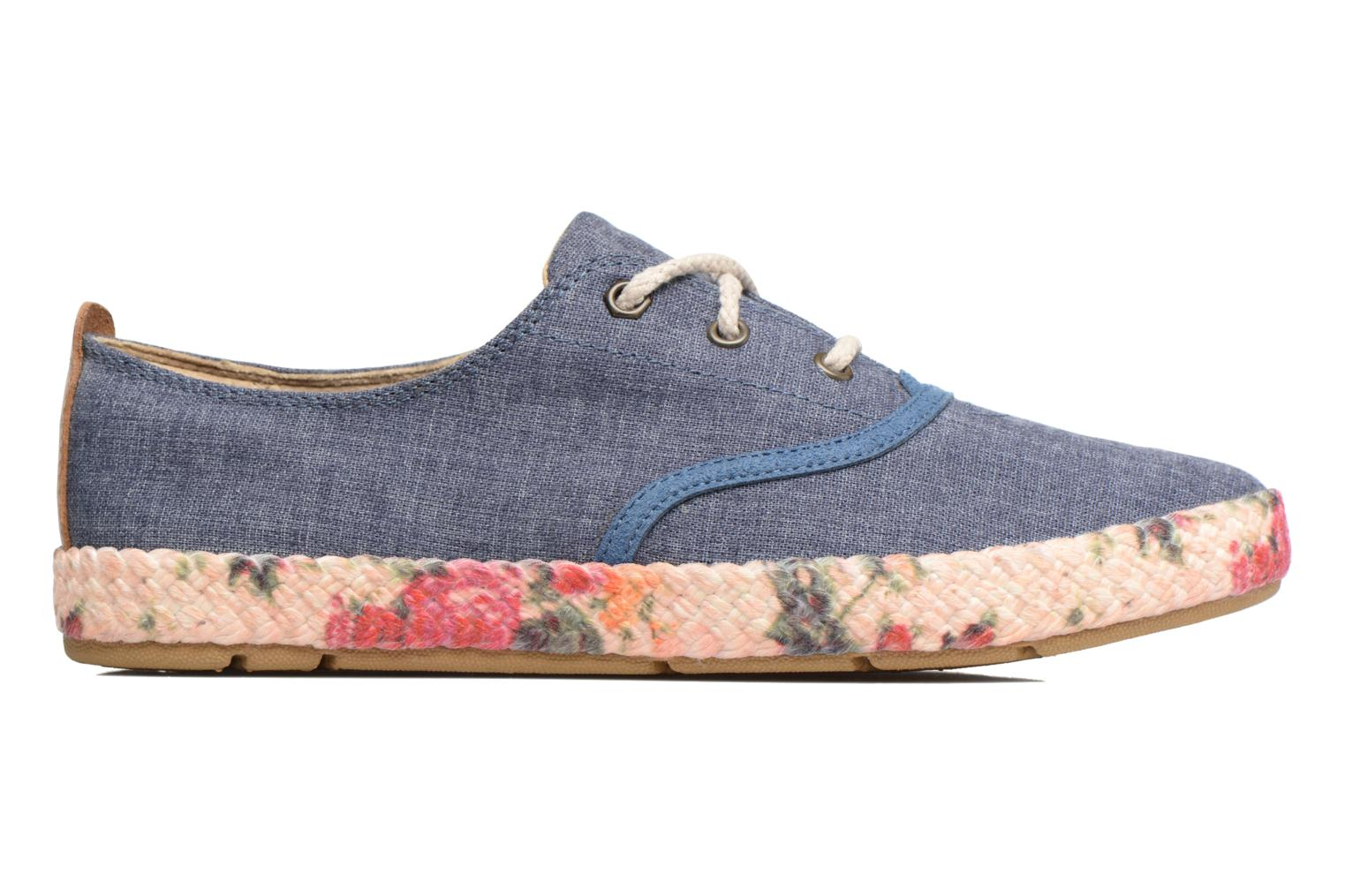 Baskets Timberland Casco Bay Fabric Oxford Bleu vue derrière