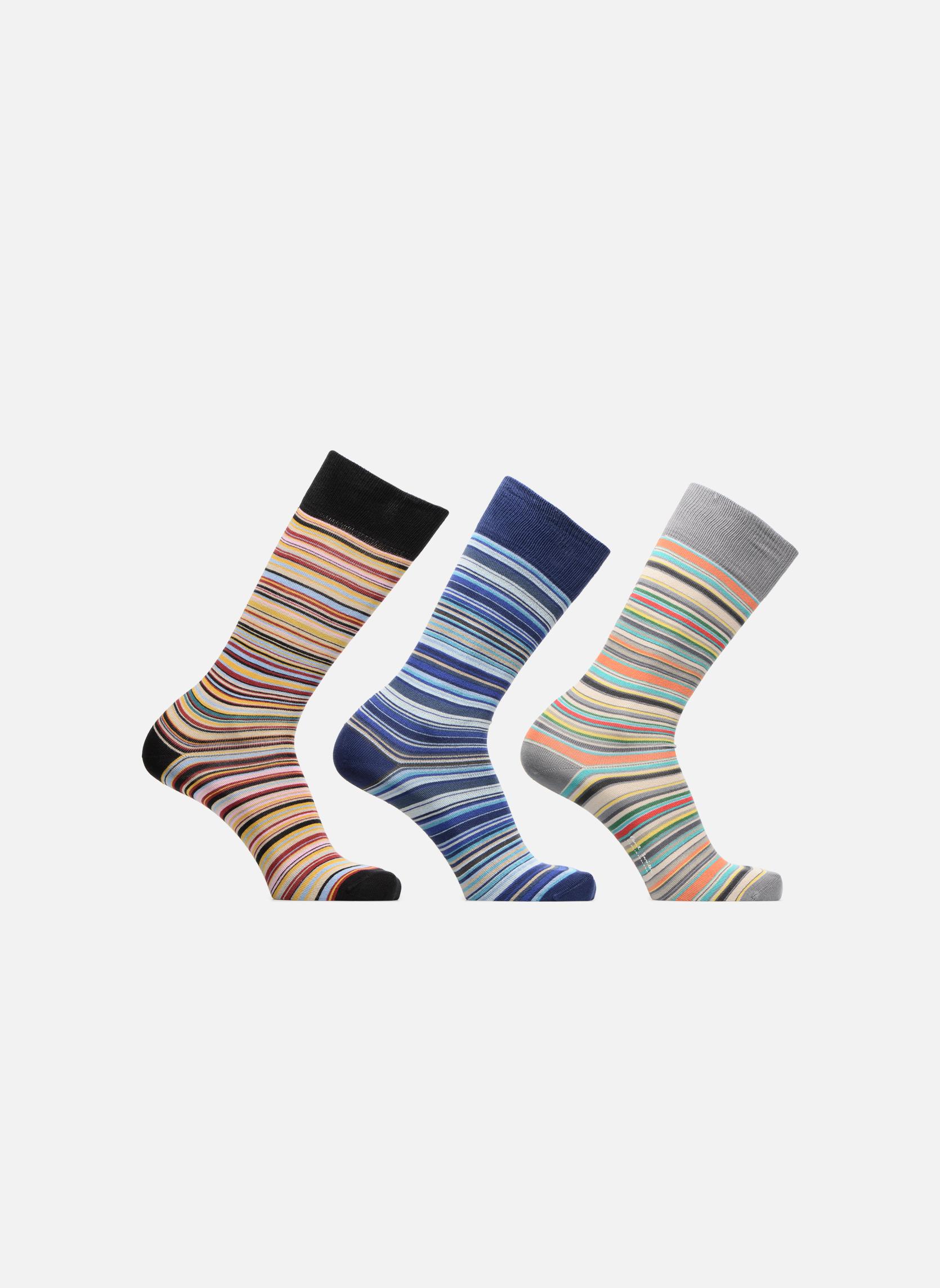 Chaussettes rayées Lot de 3