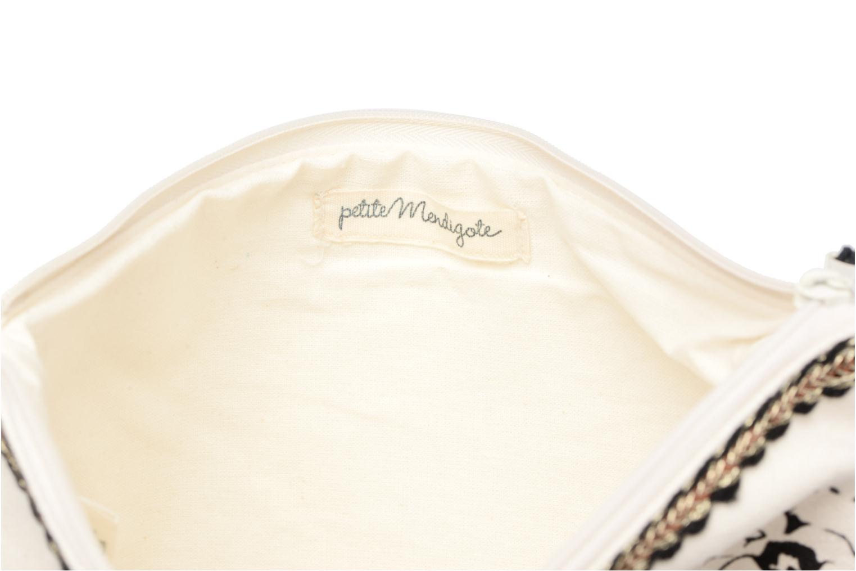 Petite Maroquinerie Petite mendigote Pochette Kit de Survie Blanc vue derrière