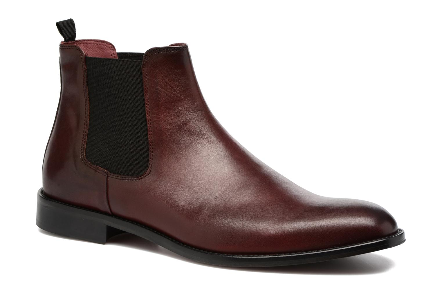 Boots en enkellaarsjes Marvin&Co Rothwell Bordeaux detail