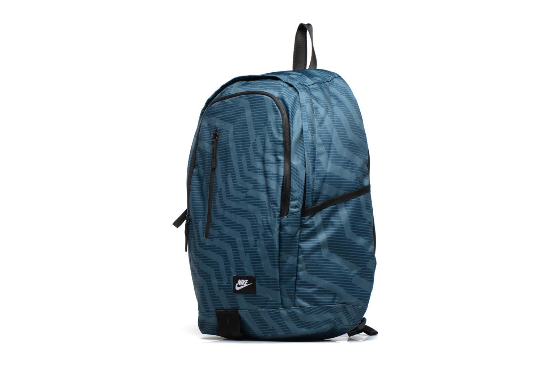 Sacs à dos Nike Nike Soleday Backpack S Bleu vue portées chaussures