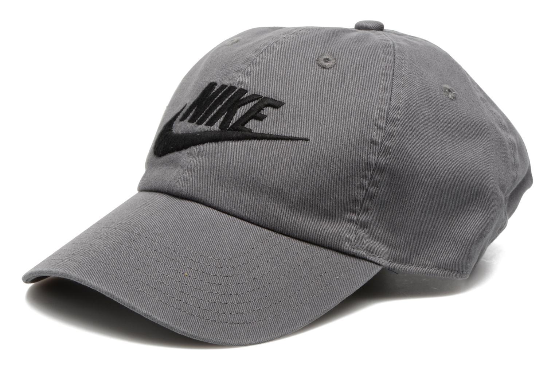 Nike Futura washed Cap Dark grey/dark grey/white