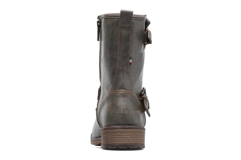 Bottines et boots Mustang shoes Ellogua Gris vue droite