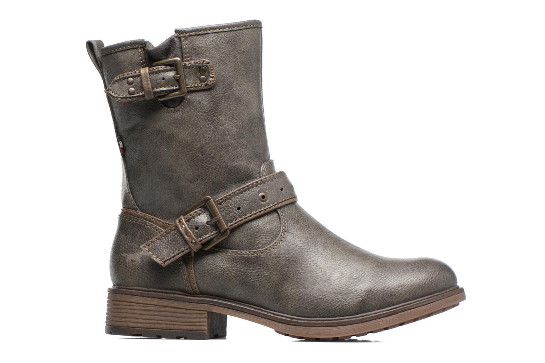 Bottines et boots Mustang shoes Ellogua Gris vue derrière