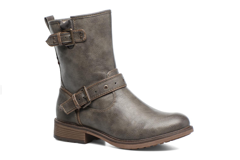 Mustang shoes Ellogua (Gris) - Bottines et boots chez Sarenza (309404)