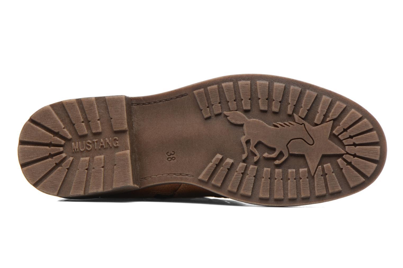 Bottines et boots Mustang shoes Plipse Marron vue haut