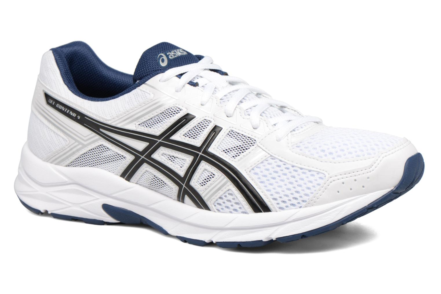 Sport shoes Asics Gel-Contend 4 White detailed view/ Pair view