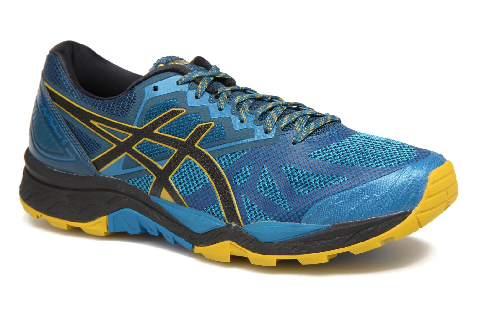 Marques Chaussure homme Asics homme Gel-Fujitrabuco 6 Turkish Tile/Black/Lemon Curry
