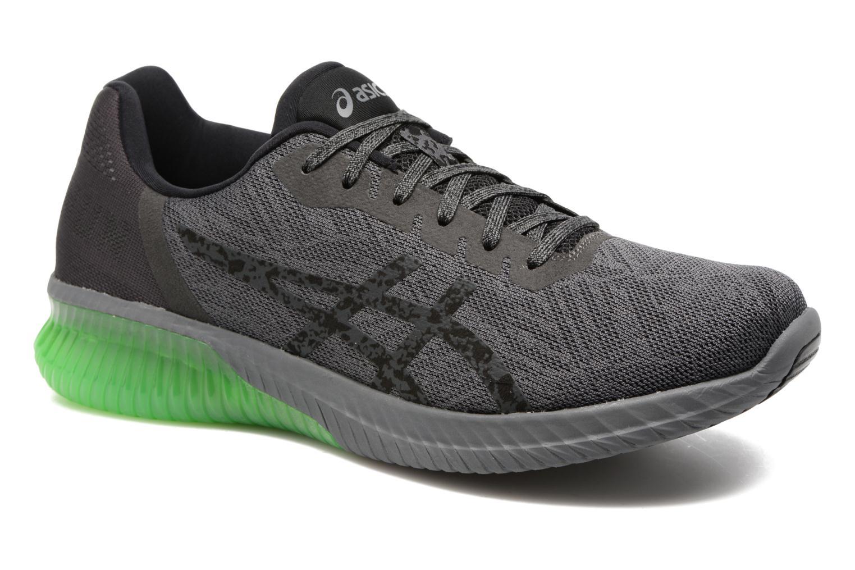 Chaussures de sport Asics Gel-Kenun Gris vue détail/paire
