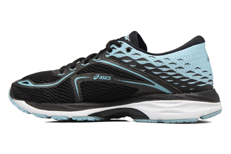 Chaussures de sport Asics Gel-Cumulus 19 W Noir vue face