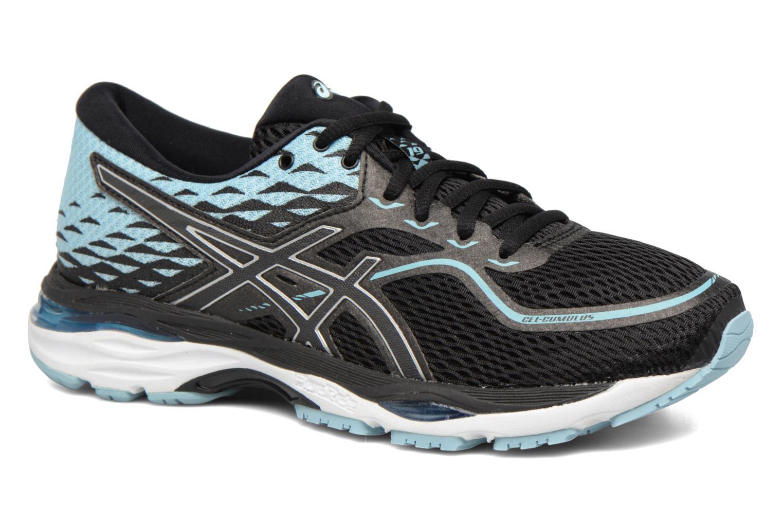 Chaussures de sport Asics Gel-Cumulus 19 W Noir vue détail/paire