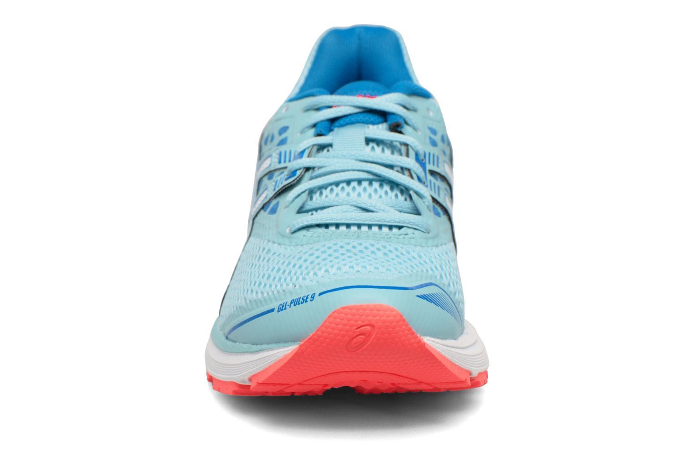 Chaussures de sport Asics Gel-Pulse 9 W Bleu vue portées chaussures