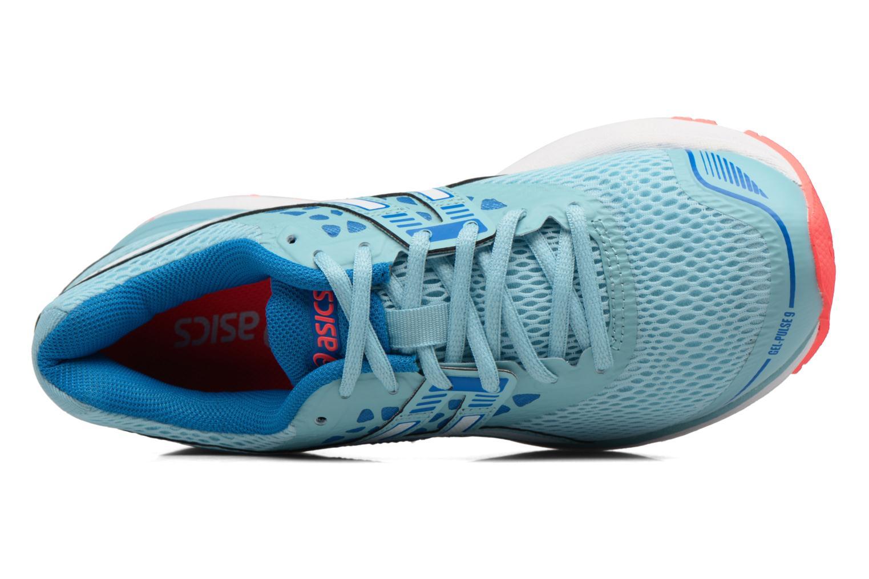 Chaussures de sport Asics Gel-Pulse 9 W Bleu vue haut