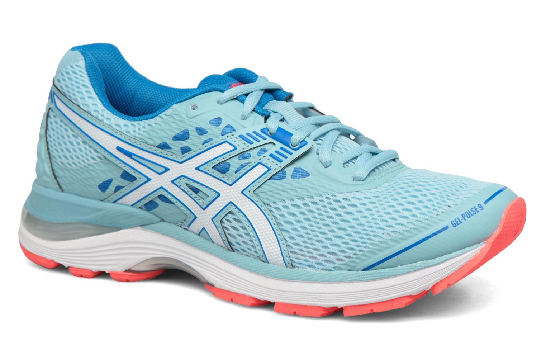 Chaussures de sport Asics Gel-Pulse 9 W Bleu vue détail/paire