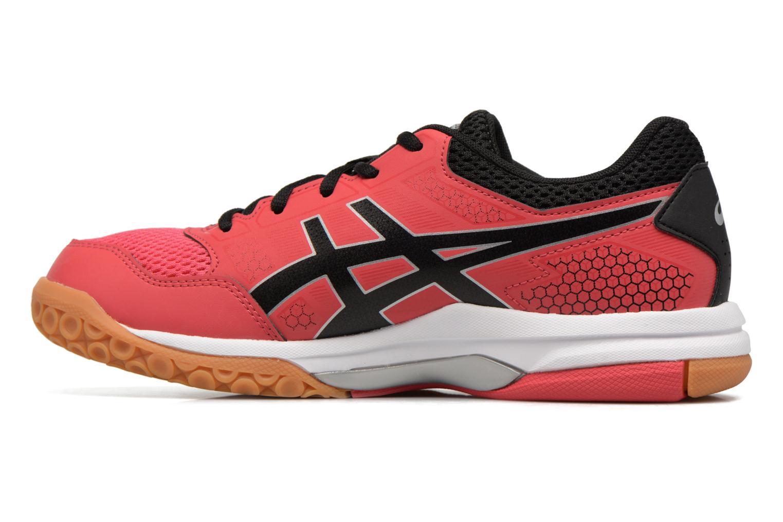 Chaussures de sport Asics Gel-Rocket 8 W Rouge vue face