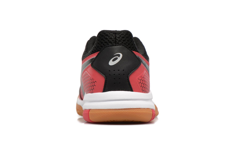 Chaussures de sport Asics Gel-Rocket 8 W Rouge vue droite