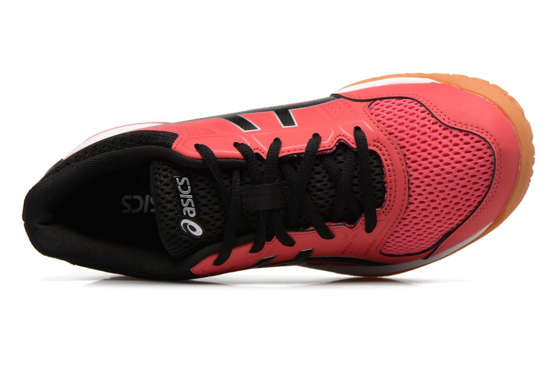 Chaussures de sport Asics Gel-Rocket 8 W Rouge vue gauche