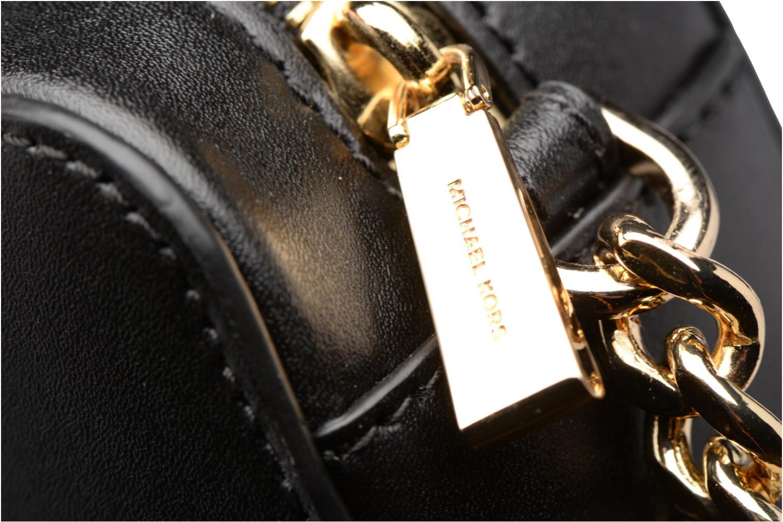 Bolsos de mano Michael Michael Kors GIN NY MD CAMERA BAG ETOILES Negro vista lateral izquierda