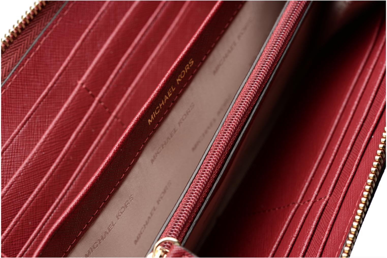 Petite Maroquinerie Michael Michael Kors Portefeuille Pocket ZA Continental Bordeaux vue derrière