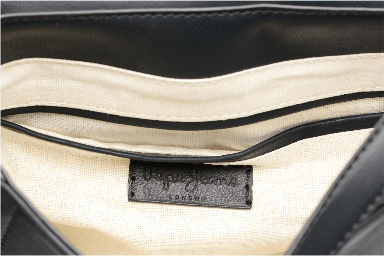 Sacs à main Pepe jeans TATY Crossbody Suede leather bag Noir vue derrière