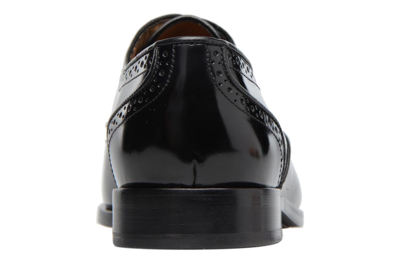 Chaussures à lacets Paul Smith Gilbert Noir vue droite