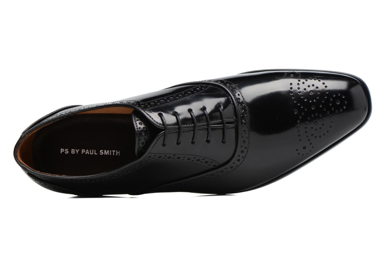 Chaussures à lacets Paul Smith Gilbert Noir vue gauche