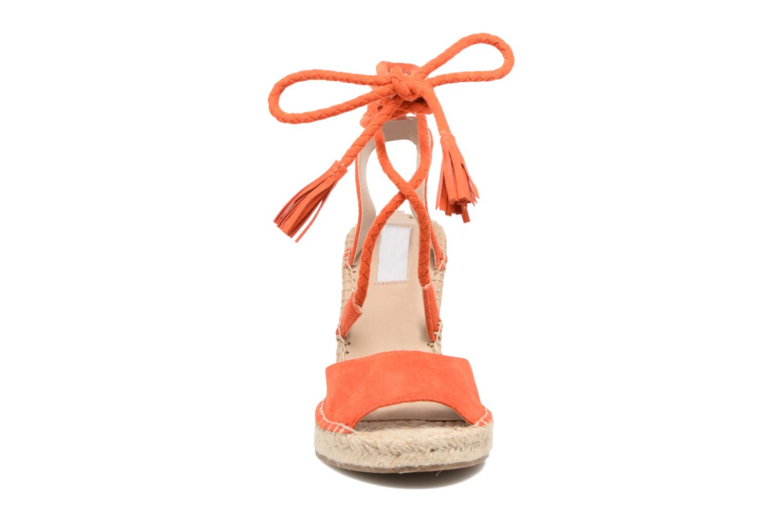 Espadrilles Steve Madden Slatee Orange vue portées chaussures