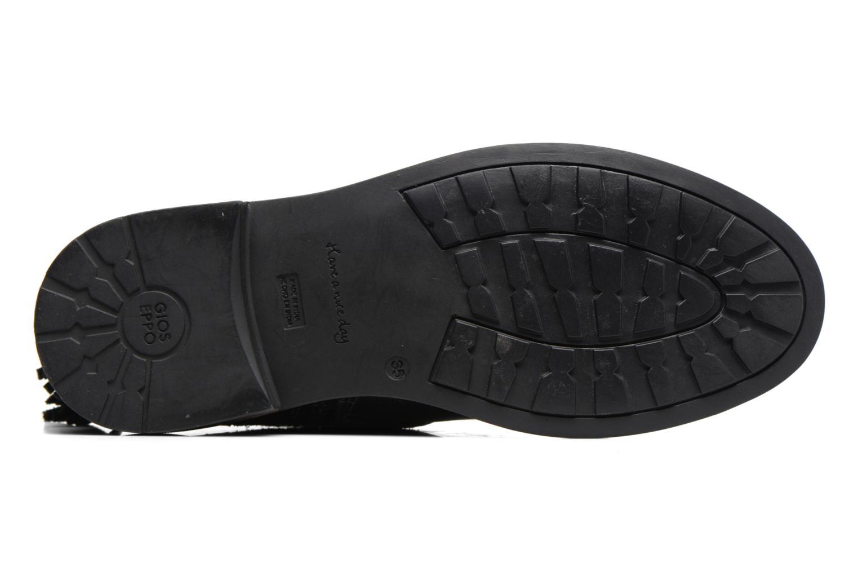 Bottines et boots Gioseppo Cleveland Noir vue haut
