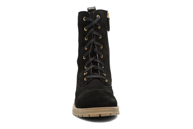 Bottes Gioseppo Fargo Noir vue portées chaussures