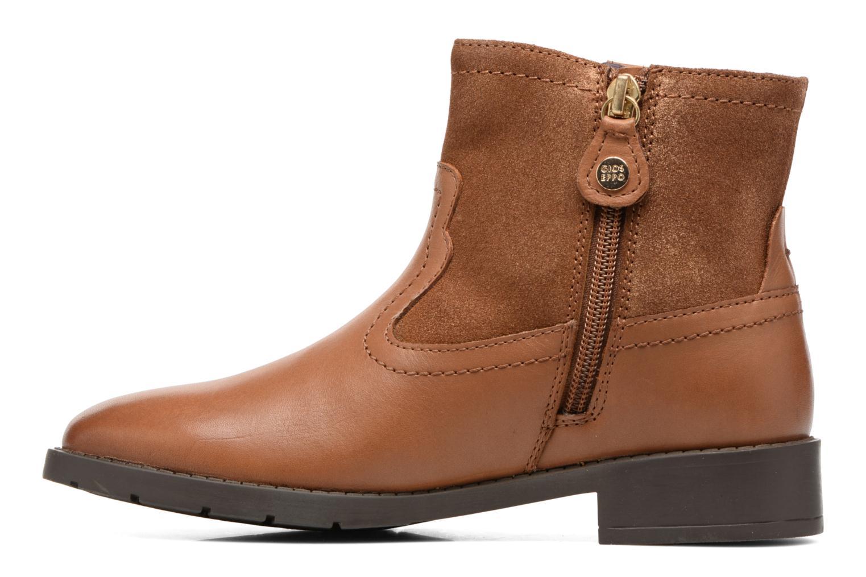 Bottines et boots Gioseppo Haro Marron vue face