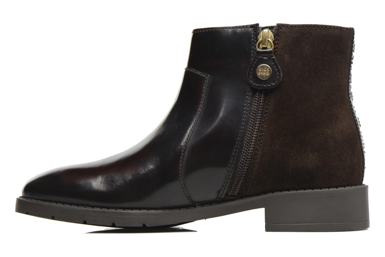 Bottines et boots Gioseppo Lusio Marron vue face