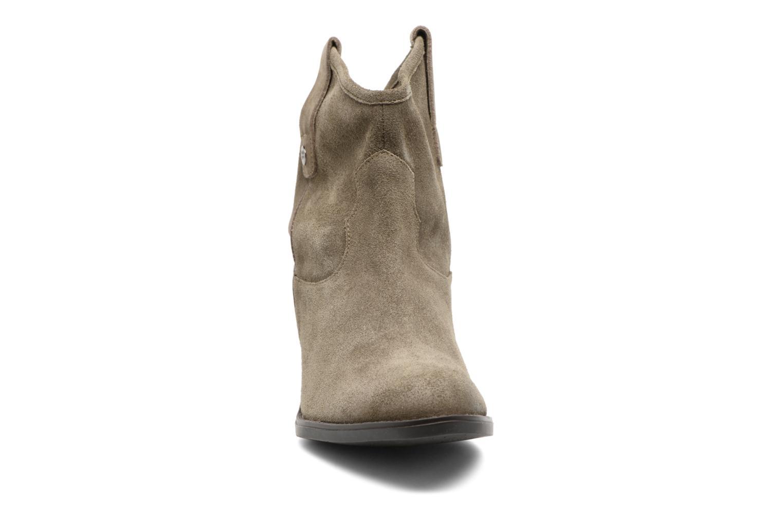 Bottines et boots Gioseppo Bastrop Vert vue portées chaussures